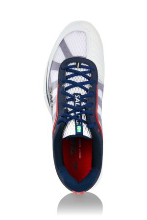 Salming Viper 2.0 White / Navy – Bild 2