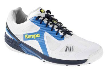 Kempa Wing Lite weiß / fair blau / marine – Bild 1