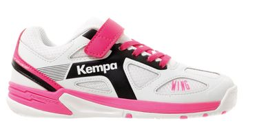 Kempa Wing Junior weiß / schwarz / pink – Bild 7