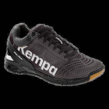 Kempa Attack Midcut schwarz / weiß