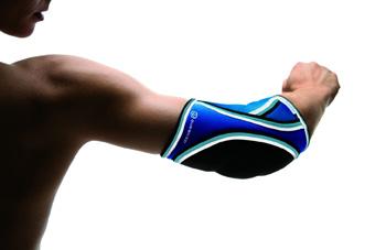 Rehband Ellenbogenschützer Retro Blau – Bild 2