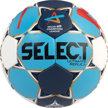 Select Handball Ultimate Replica Champions League 2018/2019 weiß / blau / rot