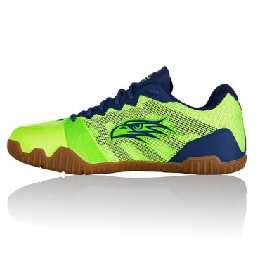 Salming Hawk Men Handballschuh FluoGreen / LimogesBlue – Bild 4