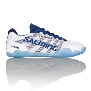 Salming Hawk Women Handballschuh White / Navy Blue – Bild 1