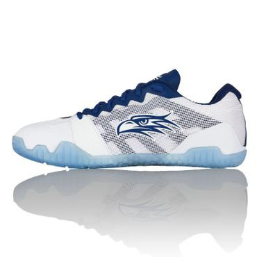 Salming Hawk Women Handballschuh White / Navy Blue – Bild 3