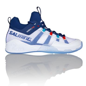 Salming Kobra Mid 2 White / Limoges blue – Bild 1