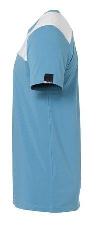 Kempa Ebbe & Flut T-Shirt dove blau / weiß – Bild 2