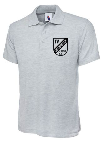 TV Obernbeck Polo-Shirt grau melange