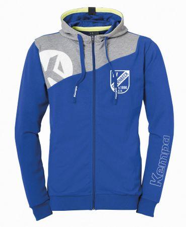 TV Obernbeck Hoody Zip-Jacke blau-grau