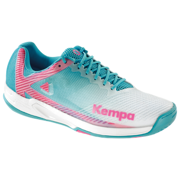 Kempa Wing 2.0 Women weiß / skyblau – Bild 1