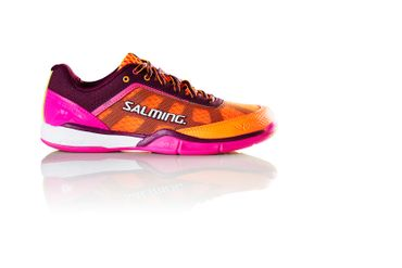 Salming Viper 4 Women	Purple / Orange – Bild 1