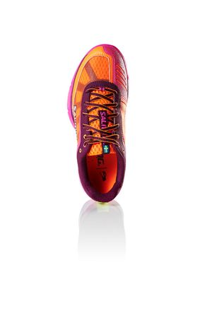Salming Viper 4 Women	Purple / Orange – Bild 5