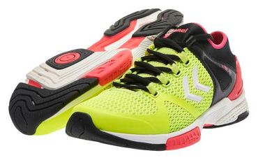 Hummel Handballschuh AEROCHARGE HB 200 Safety Yellow / Black – Bild 6