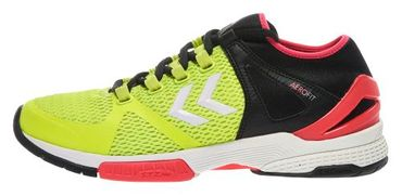 Hummel Handballschuh AEROCHARGE HB 200 Safety Yellow / Black – Bild 1