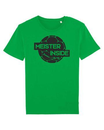 Meistershirts Motiv A mit Vereinsname aus 100% Bio-Baumwolle – Bild 3