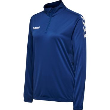 Hummel Core Poly Half Zip Sweatshirt Woman – Bild 4