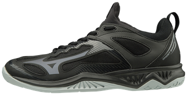 Mizuno Handballschuh GHOST SHADOW Black / Steel Gray – Bild 1